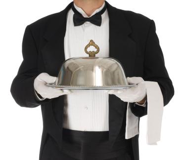 Waiter Tray